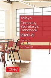 Tolley's Company Secretary's Handbook 30th edition cover