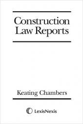 Construction Law Reports Set cover