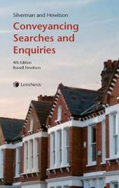 Silverman and Hewitson: Conveyancing Searches and Enquiries Fourth edition cover