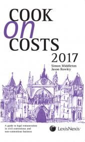 Cook on Costs 2017  cover