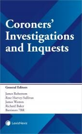 Coroners' Investigations and Inquests cover