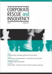 Corporate Rescue and Insolvency cover