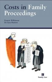 Costs in Family Proceedings cover