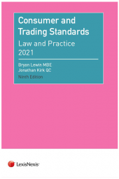 Consumer and Trading Standards: Law and Practice Ninth edition cover