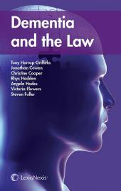Dementia and the Law cover