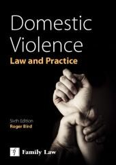 Domestic Violence: Law and Practice 6th edition cover