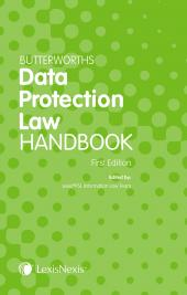 Butterworths Data Protection Law Handbook cover
