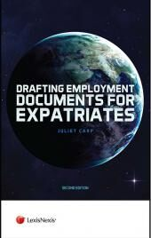 Drafting Employment Documents for Expatriates Second edition (Jordan Publishing Employment Law Series) cover