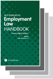 Butterworths Employment Law Handbook 28th edition & Tolley's Employment Law Handbook 34th edition Set cover