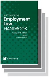 Butterworths Employment Law Handbook 29th edition & Tolley's Employment Law Handbook 35th edition Set cover