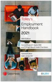 Tolley's Employment Handbook 35th edition cover