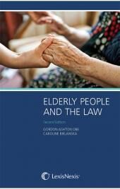 Elderly People and the Law 2nd edition cover