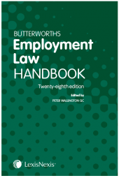 Butterworths Employment Law Handbook 28th edition cover