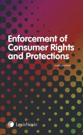 Enforcement of Consumer Rights and Protections cover