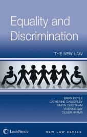 Equality and Discrimination: The New Law (Jordan Publishing New Law Series) cover