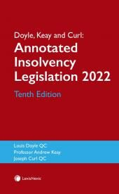 Doyle, Keay and Curl: Annotated Insolvency Legislation Tenth Edition cover