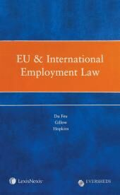 EU & International Employment Law cover