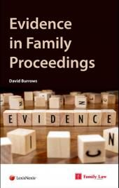 Evidence in Family Proceedings First edition cover