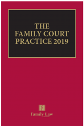 The Family Court Practice 2019 (Red Book) EPDF cover