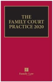 The Family Court Practice 2020 EPDF cover