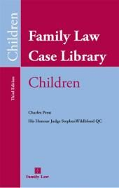 Family Law Case Library (Children) (with CD-ROM) cover