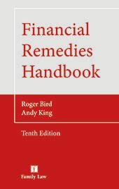 Financial Remedies Handbook Tenth edition cover