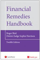 Financial Remedies Handbook 12th Edition cover