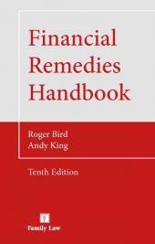 Financial Remedies Handbook 10th edition cover