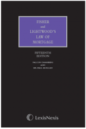Fisher and Lightwood's Law of Mortgage 15th edition cover