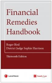 Financial Remedies Handbook 13th edition cover