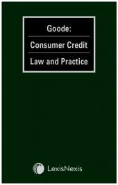 Goode: Consumer Credit Law and Practice cover