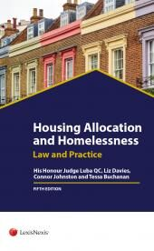 Housing Allocation and Homelessness Law & Practice Fifth edition (with CD-ROM) cover