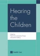 Hearing The Children cover