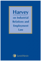 Harvey on Industrial Relations and Employment Law cover
