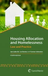 Housing Allocation and Homelessness: Law and Practice 4th edition (with CD-ROM) cover
