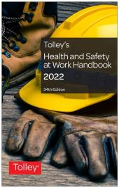 Tolley's Health and Safety at Work Handbook 2022 34th edition cover