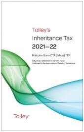 Tolley's Inheritance Tax 2021-22 cover