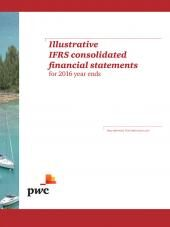 Illustrative IFRS Consolidated Financial Statements for 2016 Year Ends cover