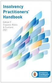 Insolvency Practitioners Handbook Ninth edition cover