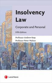 Insolvency Law: Corporate and Personal Fifth edition cover