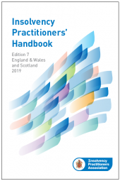 Insolvency Practitioners Handbook Seventh edition cover
