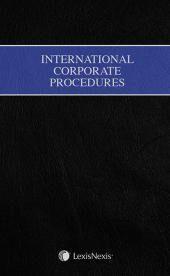 International Corporate Procedures cover