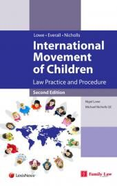 International Movement of Children: Law Practice and Procedure 2nd edition cover