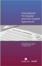 International Pre-Nuptial and Post-Nuptial Agreements cover