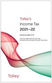 Tolley's Income Tax 2021-22 Main Annual cover