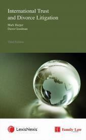 International Trust and Divorce Litigation Third edition cover
