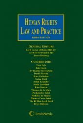 Lester, Pannick & Herberg: Human Rights Law and Practice Third edition cover