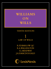 LexisNote Williams on Wills 10th edition Set img
