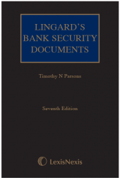 Lingard's Bank Security Documents Seventh edition cover