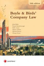 Boyle & Birds' Company Law Tenth edition cover